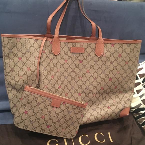f3a522f1b6d8 Gucci Bags | Super New Authentic Tote | Poshmark